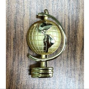 Got the Whole World on my Lapel Brooch
